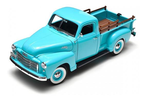 Miniatura 1:18 Gmc Pick Up 1950 Azul Yat Ming