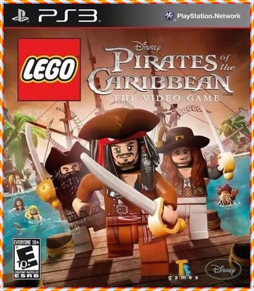Lego Piratas Do Caribe Ps3