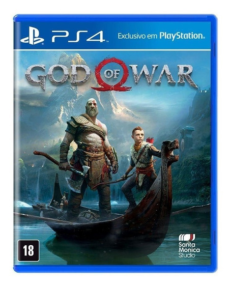 God Of War 4 Ps4 Gow Playstation 4 Mídia Física