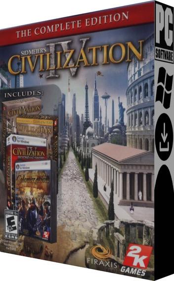 Civilization Iv: The Complete Edition - Pc - Digital