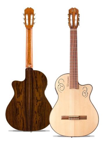 Guitarra Electroclasica La Alpujarra 300 Kec Nat Eq - Cuotas