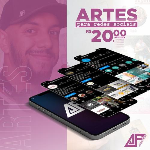 Imagem 1 de 1 de Artes Para Redes Sociais