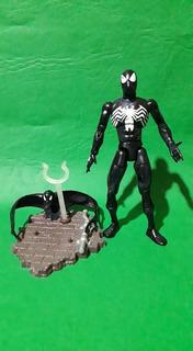 Spiderman Black Suit Marvel Legends Toy Biz Czs18