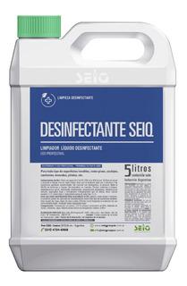 Desinfectante Seiq Amonio Cuaternario Bactericida Virucida