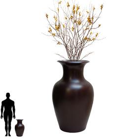 1 Vaso De Redondo Parede Pendente Luminaria Lustre Led 70x40