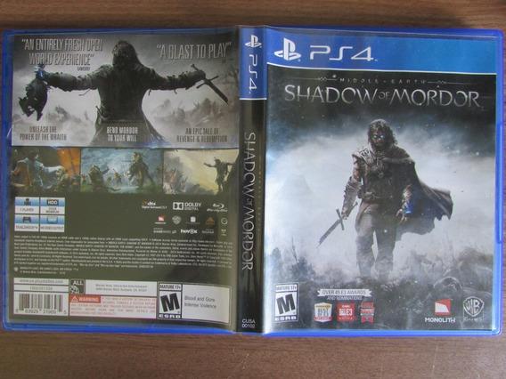 Shadow Of Mordor - Middle Earth - Ps4 (mídia Física)