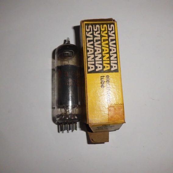 Válvula Eletrônica Marca Sylvania Modelo 6em5