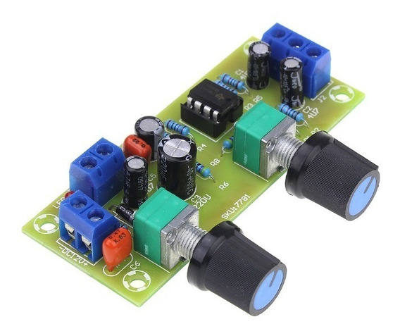 Placa Pre Amplificador Subwoofer Crossover Low Pass Full On
