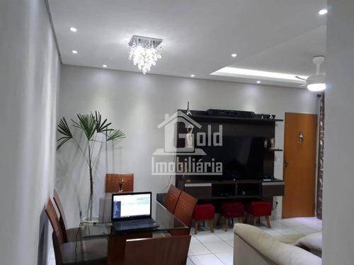 Apartamento Terreo Com 2 Dormitórios À Venda, 92 M² Por R$ 255.000 - Jardim Anhangüera - Ribeirão Preto/sp - Ap3449