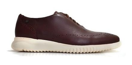 Zapato Casual De Piel Shedron Y Suela De Eva 2601