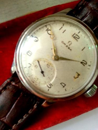 Relógio Omega Militar  Antigo Na Caixa