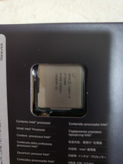 Processador I7 9700k +memória Dominator Platinum Rgb 16gb