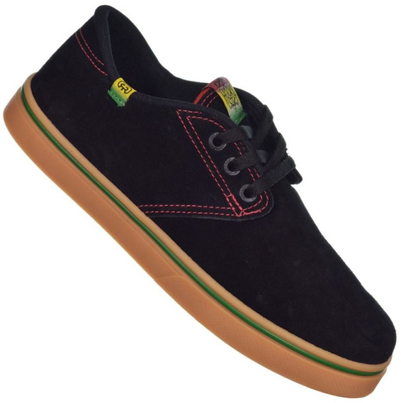 Tênis Hocks Del Mar Black Juana Original Reggae Skate Bike