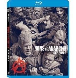 Blu-ray Sons Of Anarchy 6ª Sexta Temporada Importado