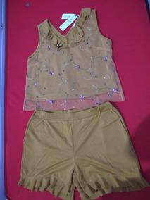 Conjunto Short E Blusa
