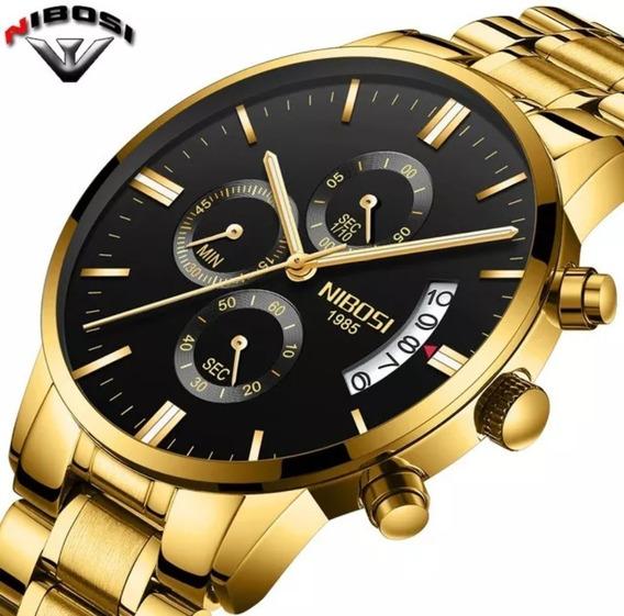 Relógio Importado Nibosi Ni2309 Original Frete Grátis