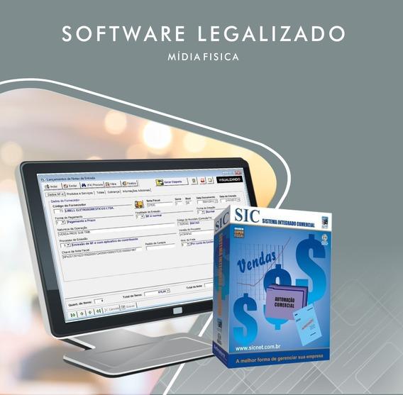 Sistema Integrado Comercial - Sic 5.2.53 + Manual Do Usuario