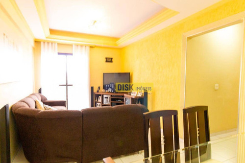Imagem 1 de 17 de Apartamento Com 3 Dormitórios À Venda, 85 M² Por R$ 430.000,00 - Vila Príncipe De Gales - Santo André/sp - Ap1909