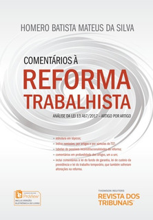 Comentários A Reforma Trabalhista