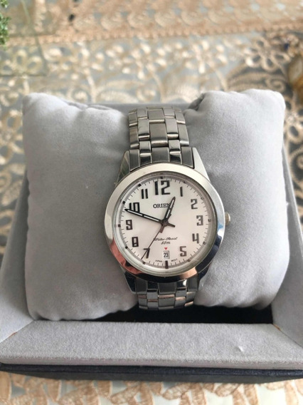 Relógio De Pulso Orient, Feminino, Prata (usado)