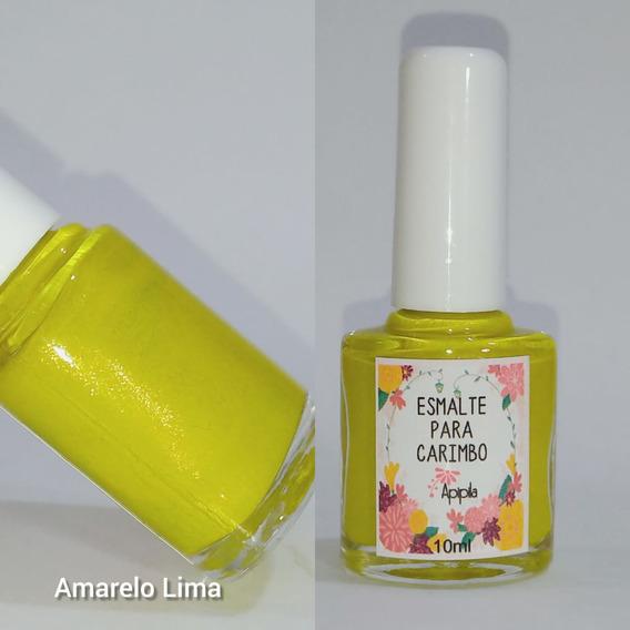 Esmalte Carimbo Apipila - Amarelo Lima