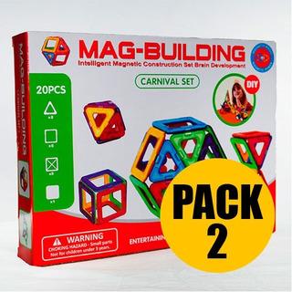 Juego Magnéticos De 20 Piezas Set X2