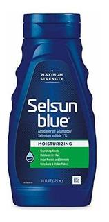 Champú Hidratante Selsun Azul Para La Caspa