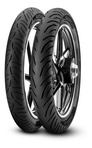 Kit Cubiertas Pirelli Supercity Ybr 125 Usoc/camara