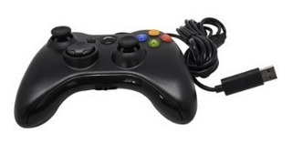 Control Alambrico Para Consola De Videojuegos Xbox 360