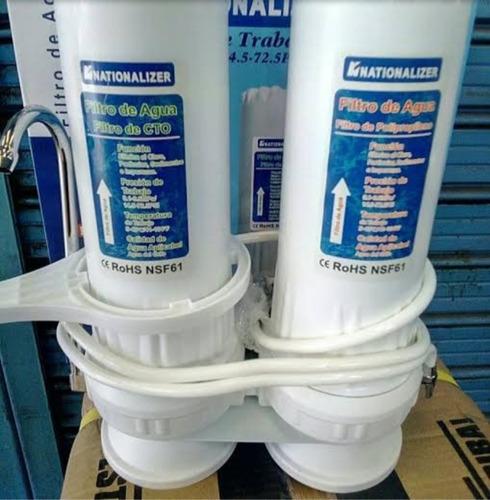 Filtro Purificador De Agua Nationalizer