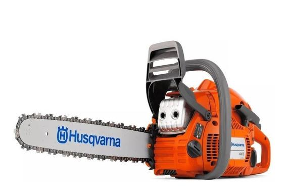 Motosierra Husqvarna 445 Barra 20 + Envío Gratis