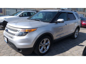 Ford Explorer 5 Pts. Limited, V6, Ta, Piel, Qc, Dvd, Sync 2
