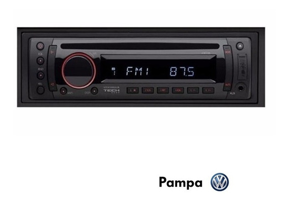 Radio Stereo Cd Mp3 Usb Aux. Original Volkswagen 5u0057187