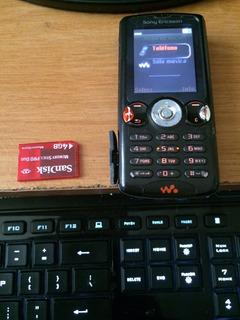 Sony Ericsson W810 4gb