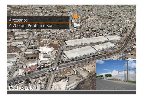 Bodega Renta 2,500 M2,cerca De Gob. Curiel Y Periferico, Col Artesanos