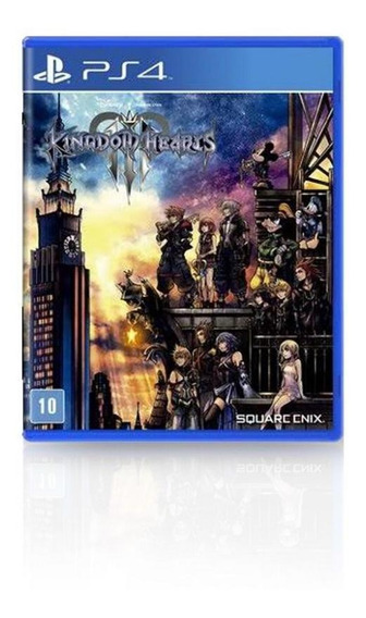 Jogo Game Kingdom Hearts Iii - Ps4