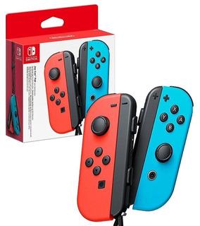 Joystick Nintendo Switch Joy Con Azul Y Rojo Nuevo Original