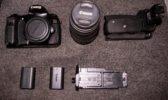 Camara Canon 60d Dslr Relfex + Objetivo 50mm (stm)