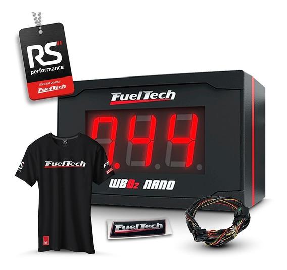 Fueltech Wide Band O2 Nano S/ Sonda Chicote 2m (wideband)
