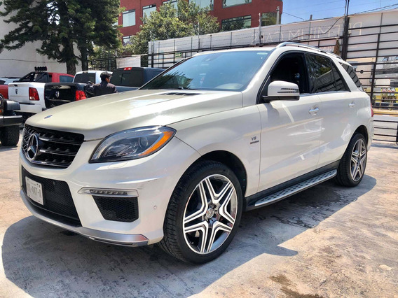 Impecable Mercedes Benz Clase Ml Ml63 Amg 2013 V8 Biturbo
