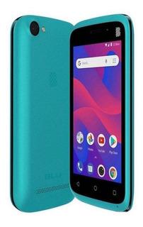 BLU L4 Dual SIM 8 GB Azul-turquesa 512 MB RAM