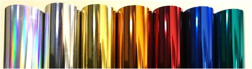 Nail Foil Art Para Decorar Uñas - Colores Metalizados