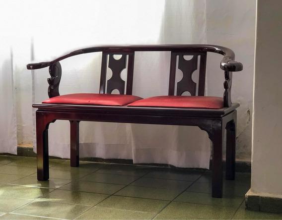 Namoradeira E Cadeiras De Cerejeira Resinadas 25 Anos