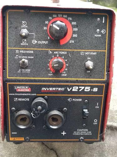 Máquina De Solda Ivertec V275 Lincon