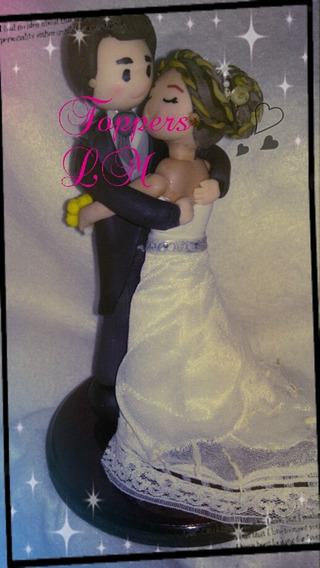 Novios Para Pastel Wedding Cake Topper