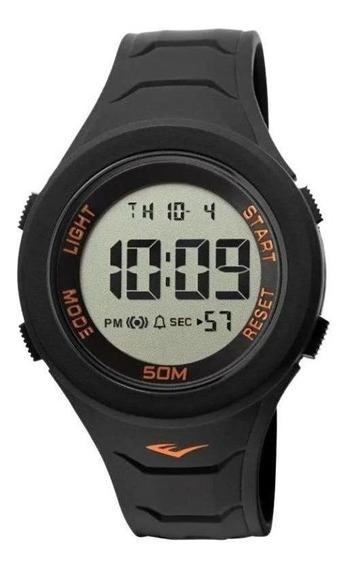 Relógio Pulso Everlast Unissex Digital Preto E713