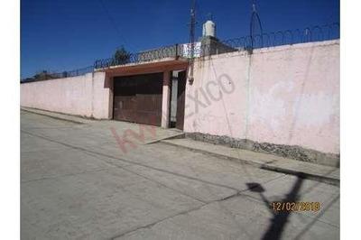 Venta Casa Pequeña En Dos Niveles Con Gran Terreno Y Locales Comerciales, En Canaleja, Jilotepec, Edo. De México