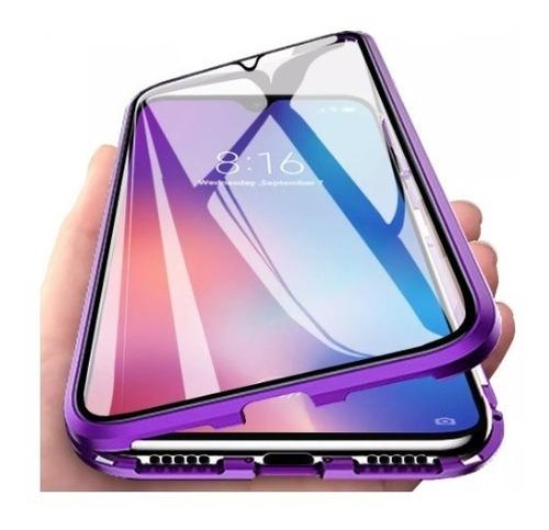 Imagen 1 de 5 de Funda Magnética Samsung Galaxy M31 + Cristal