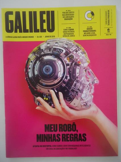 Galileu #335 Jun-2019 Meu Robô Minhas Regras