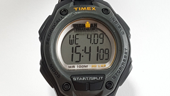 Relógio Timex Ironman Triathlon Wr 100m 30 Lap